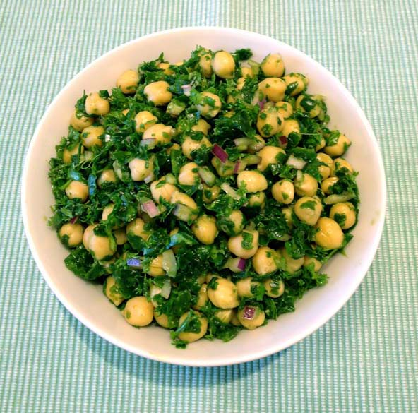 CHICKPEAS WITH SPINACH AND PARSLEY | LTfresh